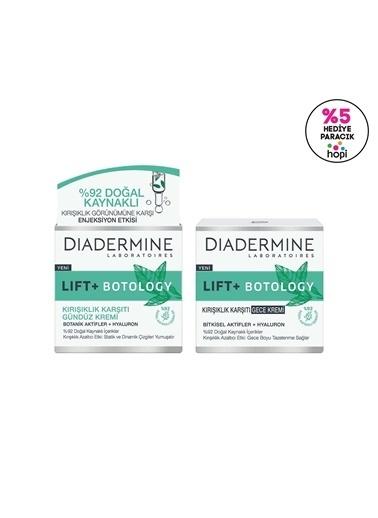 Diadermine Diadermine Lıft+ Botology Kırışıklık Karşıtı Gündüz Kremi 2'Li Renksiz